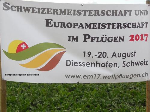 01 Europees ploegen in Zwitserland